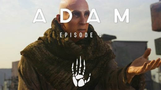 ADAM: Episode 3 - The Prophet. Cortometraje animación Neill Blomkamp