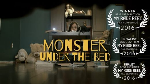 Monster under the bed. Cortometraje de terror de Moises Velasquez