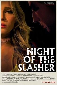 Night of the Slasher cortometraje cartel poster