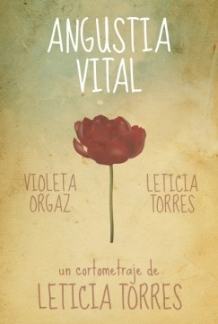 Angustia vital cortometraje cartel poster