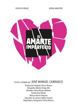 El amante imperfecto cortometraje cartel poster