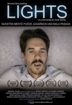 Lights cortometraje cartel poster
