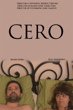 CERO Cortometraje cartel poster