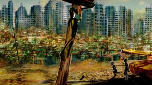Like crude oil. Cortometraje de animación español de Daniel Pardo