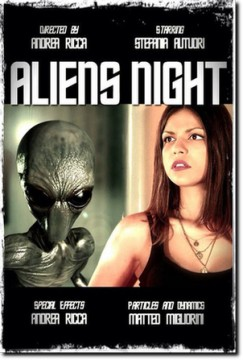 Aliens Night cortometraje cartel poster