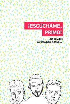 Escuchame primo cortometraje cartel poster