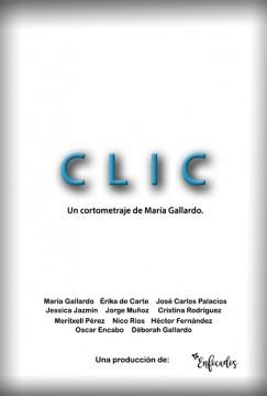 Clic cortometraje cartel poster
