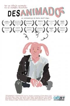 Desanimado cortometraje cartel poster