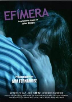 Efímera cortometraje cartel poster