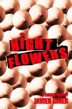 Flores nocturnas cortometraje cartel poster
