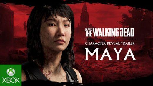 Overkills The Walking Dead - Maya Trailer Game Cinematic