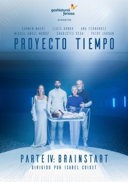 Proyecto Tiempo. Parte IV: Brainstart cortometraje cartel poster