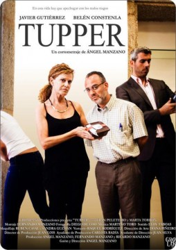 Tupper cortometraje cartel poster