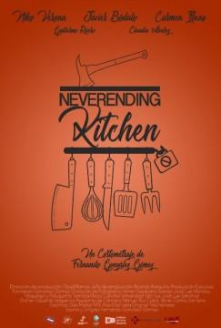 Neverending kitchen cortometraje cartel poster