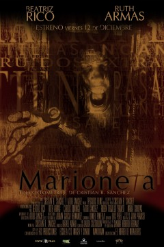 Marioneta cortometraje cartel poster