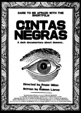 Cintas negras cortometraje cartel poster