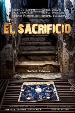 El sacrificio cortometraje cartel poster