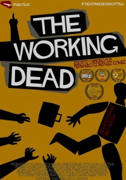 The working dead cortometraje cartel poster