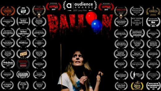 Balloon. Cortometraje y thriller de terror de Mitchell Slan
