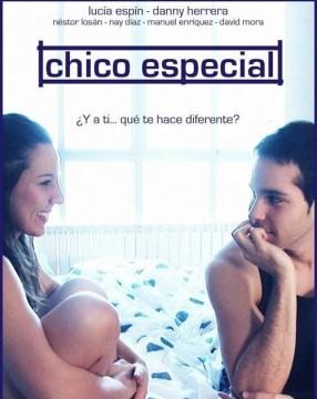 Chico especial cortometraje cartel poster
