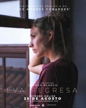 Eva regresa cortometraje cartel poster