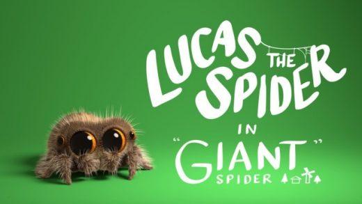 Lucas the Spider - Giant Spider. Cortometraje de animación Joshua Slice