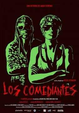 Los comediantes cortometraje cartel poster