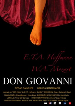 Don Giovanni corto cartel poster