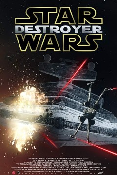 Star Wars Destroyer cortometraje cartel poster