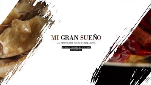 Mi gran sueño. Cortometraje de Carlos Solís y Estefanía Serrano