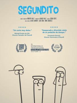 Segundito cortometraje cartel poster