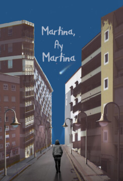 Martina, ay Martina corto cartel poster