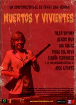 Muertos y vivientes cortometraje cartel poster