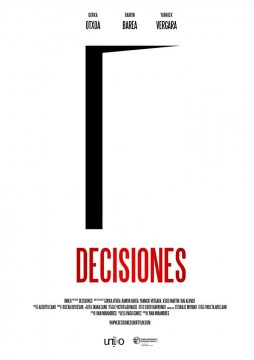 Decisiones cortometraje cartel poster