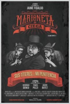 Marioneta ciega cortometraje cartel poster