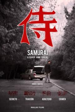 Samurai cortometraje cartel poster