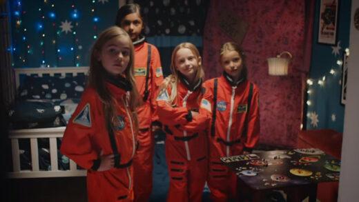 Space Girls. Cortometraje de acción y aventuras de Carys Watford
