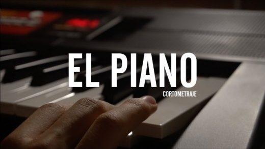 El piano. Cortometraje español experimental de Studio Barrantes