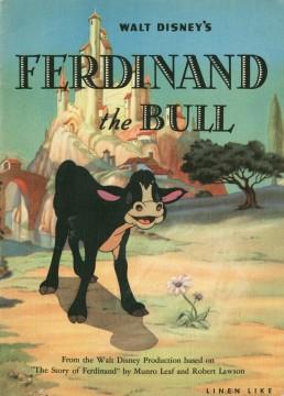 El toro Ferdinando cortometraje cartel poster
