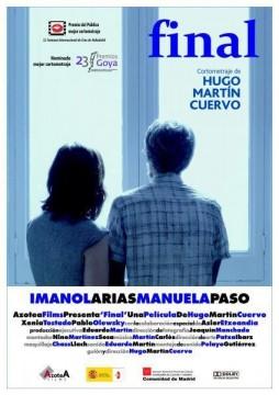 Final cortometraje cartel poster