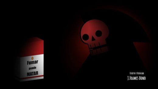 Fumar puede Matar. Cortometraje de animación de J.Frames Bond
