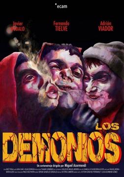 Los demonios cortometraje cartel poster
