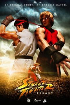 Street Fighter Legacy cortometraje cartel poster