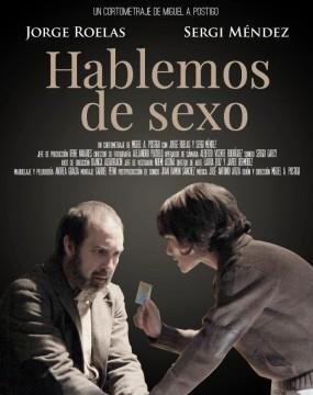 Hablemos de sexo cortometraje cartel poster