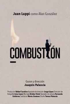 Combustión cortometraje cartel poster