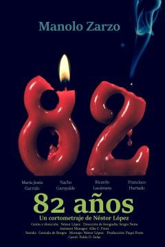 82 años cortometraje cartel poster