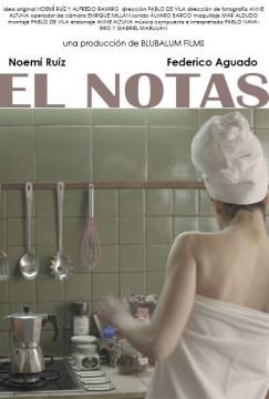 El notas cortometraje cartel poster
