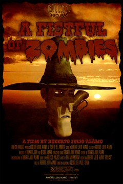 A Fistful of Zombies cortometraje cartel poster