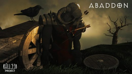 Abaddon. Cortometraje de animación de Roberto Julio Álamo