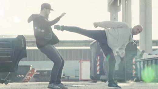 Black belt. Cortometraje de acción y artes marciales de Jörg Gantert